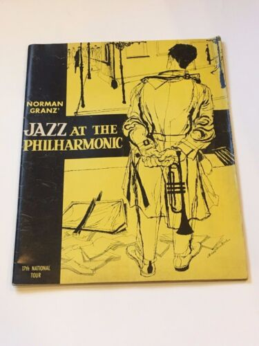 Norman Granz-Jazz at the Philharmonic 17th Tour Program Ella Fitzgerald