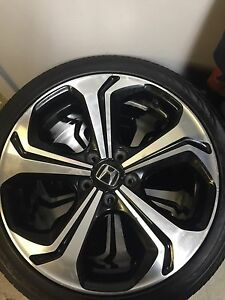 2014 honda civic SI oem rims with continental tires