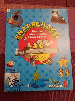 Snapperazzi - Commodore Amiga A500, A600 Game UK PAL - New Boxed ! Unusual !