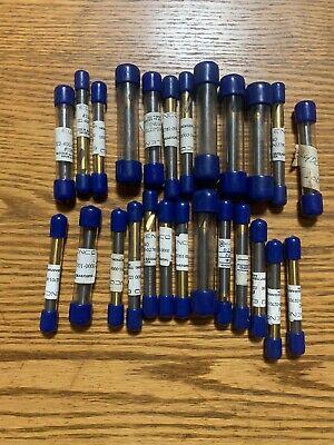Elenco Tungsten Carbide Lot Of 25 Various Drill Bits Brand New