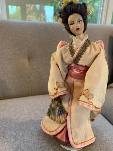 ANTIQUE CHINESE/JAPANESE Bisque Doll- Unique one of a kind Doll