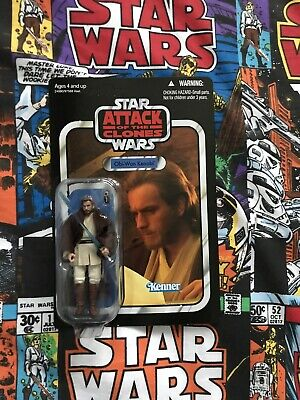 Star wars vintage collection attack of the clones obi-wan kenobi