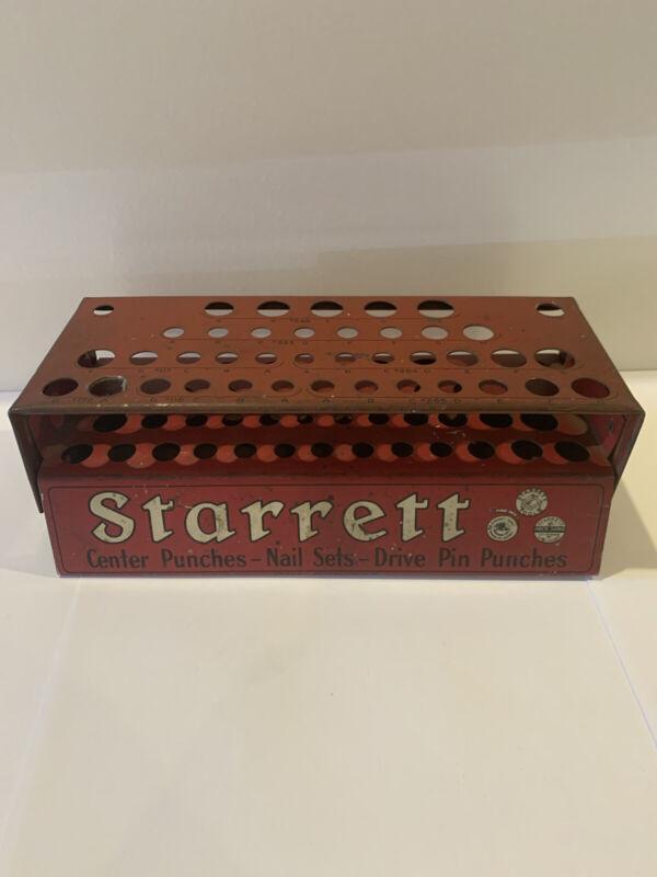 Starrett Countertop Display Center Punches Nail Sets Drive Pin Punches Hardware