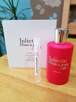 Juliette Has a Gun MMMM 5ML Perfume Simple/Atomizer. 5ML  Genuine