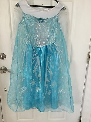 Disney Princess Elsa Dress Size 10/12 Halloween/Dress Up - Elsa Halloween Costume Size 10-12