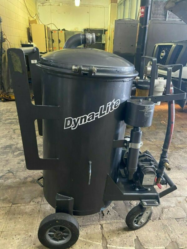 Dyna-Lite Pumper Unit 55 Gallon (Grease Portable Vacuum)