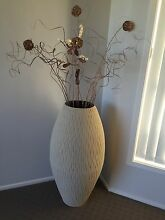 Large decorative vase with decorative items. Wallsend Newcastle Area Preview