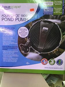 Pompe Aquaforce Liquidation