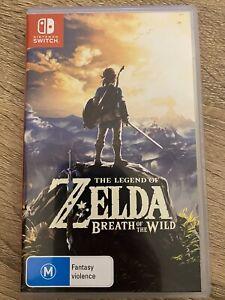 Nintendo Zelda Breath of the Wild for Sale