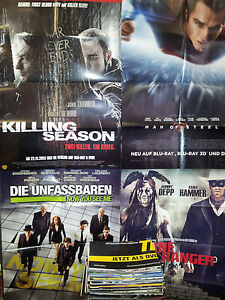 ##5x POSTER Überraschungspaket PLAKAT Kinoposter Filme Sammlung Filmposter A1 ##