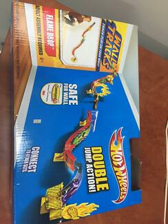 Brand new in box Hot wheels double jump action Cleveland Redland Area Preview