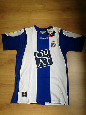 ESPANYOL Trikot shirt camiseta 2007/08 OFFICIAL UHLSPORT SIZE XL image