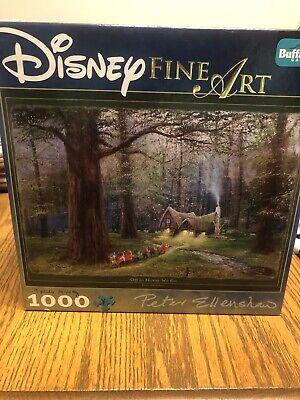 Snow White Disney Fine Art Puzzle Off To Home We Go Bonus Poster Inside