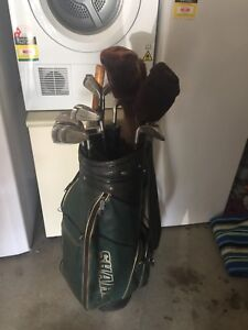Men's golf clubs with Bag