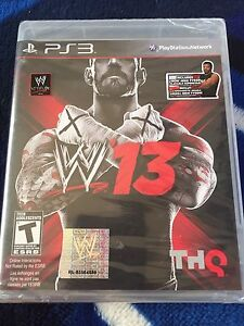 WWE '13 PS3 brand new