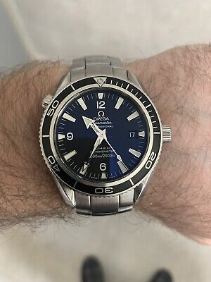 Omega Seamaster Planet Ocean Co-Axial Gents Black Watch 42mm 2201.50.00