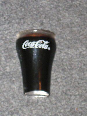 Coca Cola 1995 Magnet Filled Glass with Bubbles