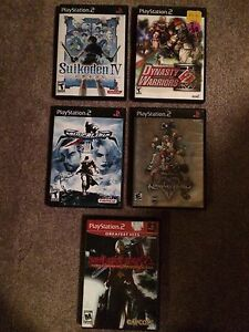 9 PlayStation 2 Games Complete