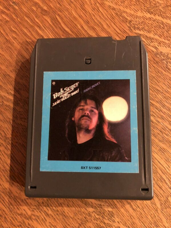 """BOB SEGER Night Moves"""" 8Track. Internal Tuneup. New Foil Play Tested."""