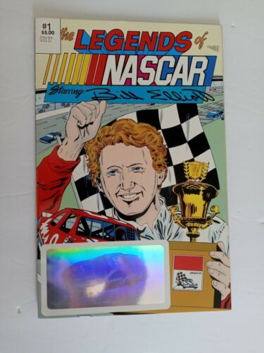 THE LEGENDS OF NASCAR  BILLY ELLIOT #1 - LIMITED EDITION COMIC BOOK 1992 NM-
