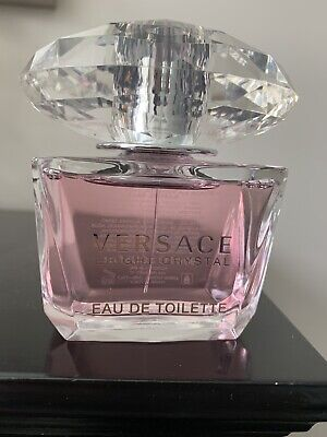 Versace Bright Crystal EDT Spray for Women, 3 Oz. Authentic Never Sprayed!!