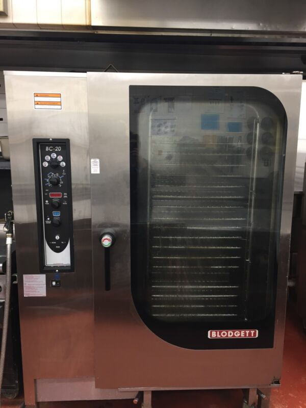 BLODGETT BC-20G/AB COMBI OVEN USED