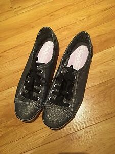 NEW black and grey Keds