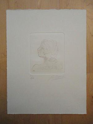 Original Lithographie ARNO BREKER * signiert *  1963 Grafik Mädchen