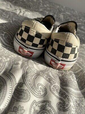 vans old skool checkerboard size 3