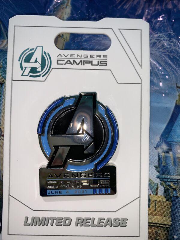 Disney California DCA Marvel Avengers Campus Opening Day Pin