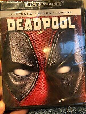 DEADPOOL (4K Ultra HD / Blu-ray / Digital) Ryan Reynolds NEW Free Shipping