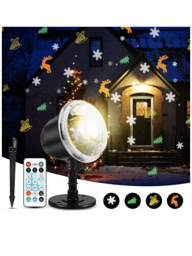 Christmas Halloween Projector Lights Indoor Outdoor Holiday