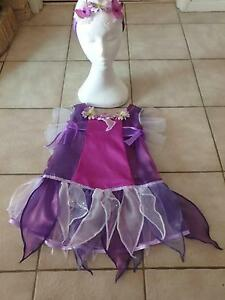 Costume: Vidia Purple Fairy Costume -  4 -5 years NEW Greenwood Joondalup Area Preview