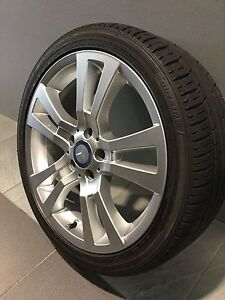 """MERCEDES C320 AVANTGARDE 18"""" STAGGERED GENUINE ALLOY WHEELS AND TYRES Carramar Fairfield Area Preview"""