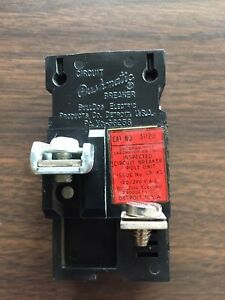 Bulldog Electric 31120 Pushmatic Circuit Breaker 20A amp
