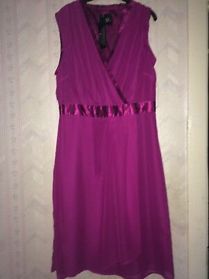 Holly Willoughby Dress   Size 12   Purple