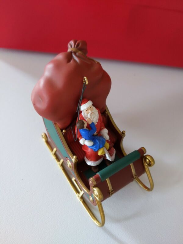 Warner brothers Sleigh Ornament