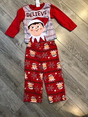 Elf Clothing For On The Shelf Pj 2pc Set Size (Elf On The Shelf Clothes For Elves)