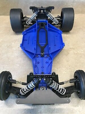 Slam It (Factory Works Traxxas v2 Slam It Lowering Kit Shock Towers Rustler Bandit)