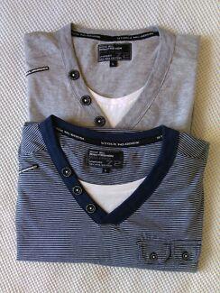2 x New T-Shirts Size L Merrimac Gold Coast City Preview