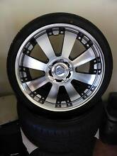 "RIMS & TYRES - LENSO CONCERTO 20""x 8.5""  * AS NEW under 500kms Happy Valley Morphett Vale Area Preview"