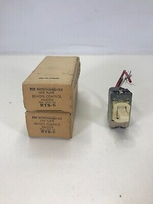 Lot Of 2 General Electric Ge Rts-5 Remote Control Switches New In Box
