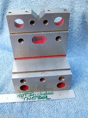 Angle Plate Stepped Wvee Hard Usa Tooolmaker Inspection Grinding Mill Precise