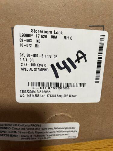 Schlage L9080P storeroom lock