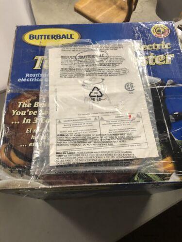butterball oil free electric turkey roaster fryer