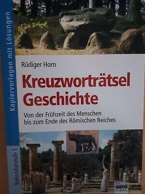 Rüdiger Horn - Kreuzworträtsel Geschichte ()
