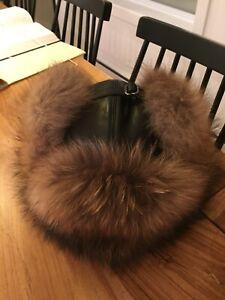 Chapeau Rudsak ( style aviateur) Fur and leather Rudsak Hat