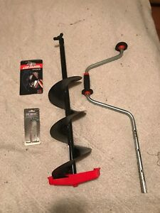 """Ice Auger package - 8"""""""