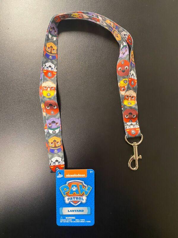 "Nickelodeon Paw Patrol 17"" Lanyard With Keychain/ID Clasp"