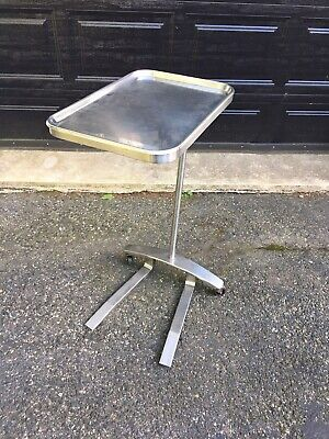 Vollrath Medical Instrument Stand With Removable Tray. Vintage